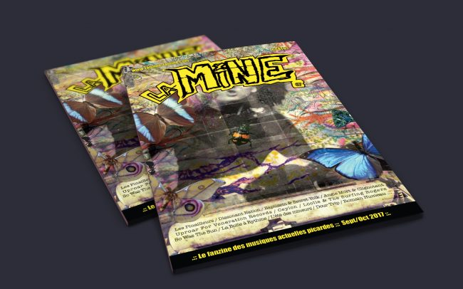 Conception graphique cover & rédaction articles - Fanzine La Mine © David Stupak