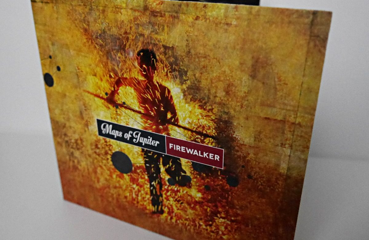 Maps Of Jupiter - Firewalker - ep artwork Photo M.M