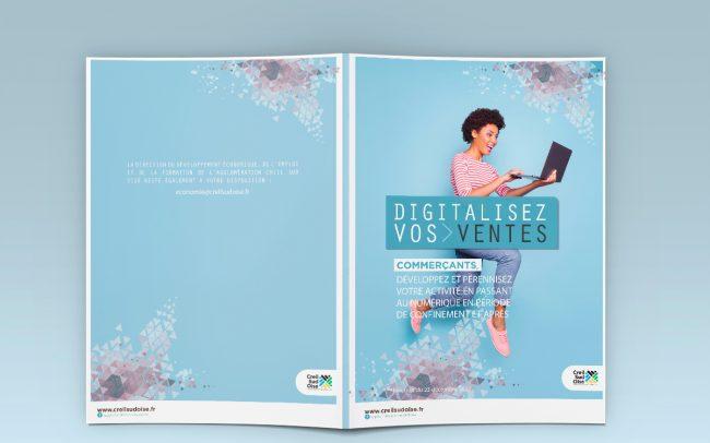 Création brochure digitale à l'attention des entreprises pour l'A.C.S.O