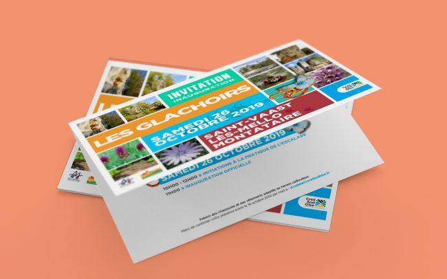 Création visuel - flyer - affiche - déclinaisons web - invitation pour l'A.C.S.O